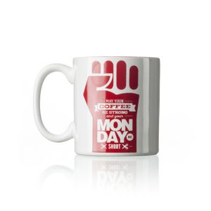Caneca days of week monday Café Cultura