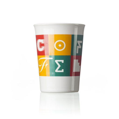 Copo To Go porcelana com tampa silicone