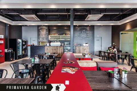 loja física café cultura primavera garden