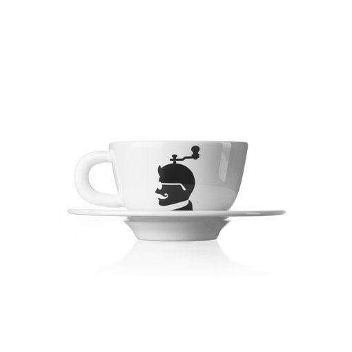 Xícara cappuccino café cultura