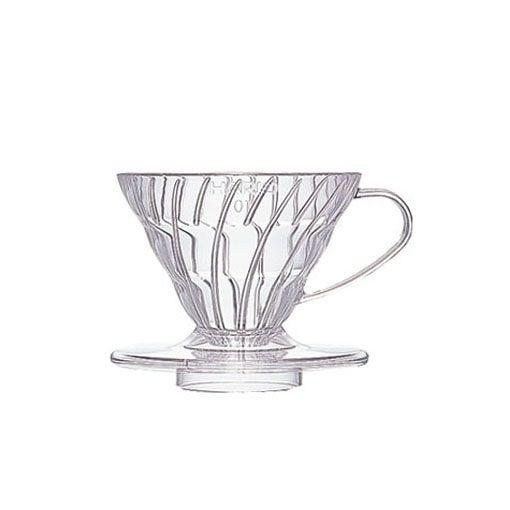 suporte para filtro de café hario v60-01 acrilico transparente