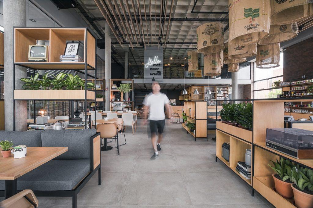 Entrada Loja Conceito Café Cultura Florianópolis
