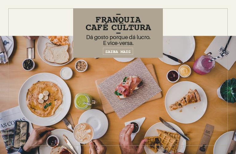 Banner Café Cultura Franquias