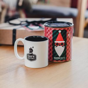 Kit Café Santa Blend + Caneca Café Cultura 300ml